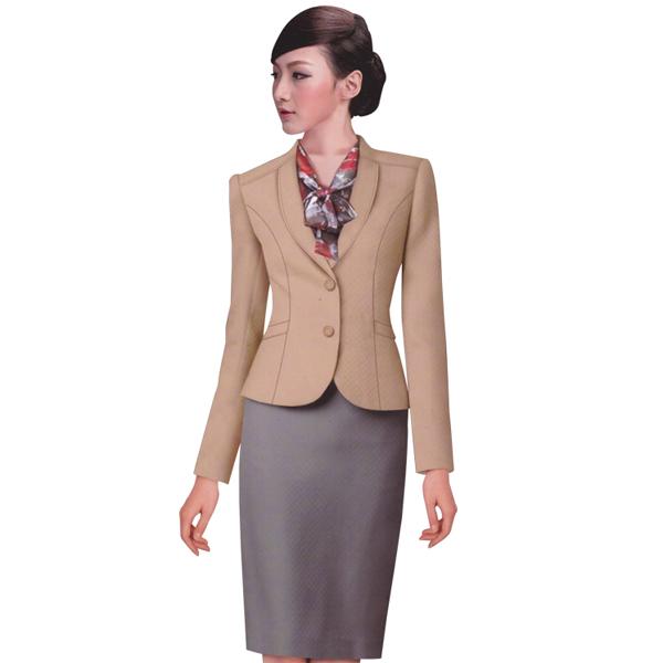 服务员工装 连衣裙 成都定做连衣裙 成都连身裙定做 成都服务员服装定制