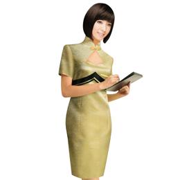 yb4 成都酒店工作服订做 酒店服装