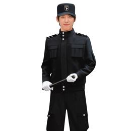 成都保安服 订做保安服 成都酒店工作服订做