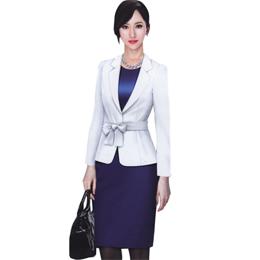 秋装 亮色搭配套装 定做西服职业装 成都订做职业装 修身西服定做