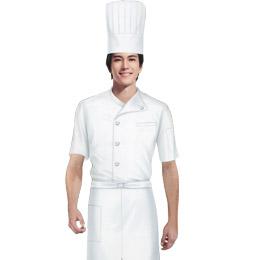 厨师 餐饮服务员工作服 工作服制服 餐饮工作服装 中餐服务员工作服
