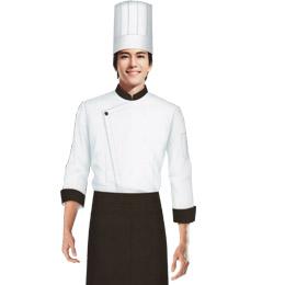 厨师 餐饮工作服装 中餐服务员工作服 饭店服务员工作服 餐厅服务员服装 餐厅服务员工作服