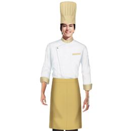 厨师 餐饮工作服装 工作服定制 成都服装订做