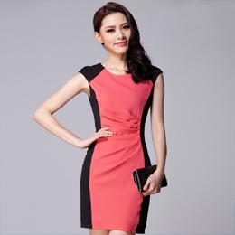 连衣裙 量身订做 定做服装 服装订做 定做女式工作服 订做夏季工作服