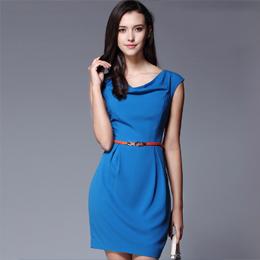 连衣裙 量身定制 定做服装 量身订做 服装订做 定做女式工作服 订做夏季工作服