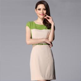 连衣裙 量身订做 定做服装 服装订做 定做女式工作服 订做夏季工作服 成都定制服装