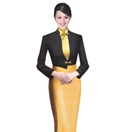 旗袍 服装订做 量身订做 酒店工作服 酒店服务员服装