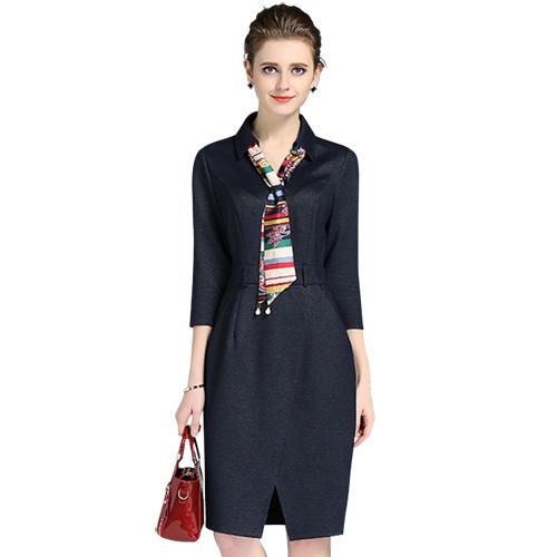 连衣裙 订做夏季工作服 定制服装 定做连衣裙