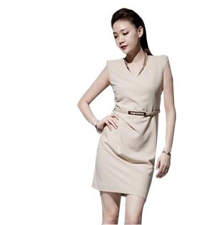 连衣裙 定制服装 订做夏季工作服
