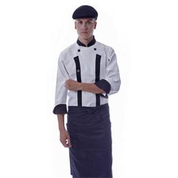 厨师服 酒店工装 餐饮服务员工作服 服务员服装 餐厅工作服 中餐服务员工作服