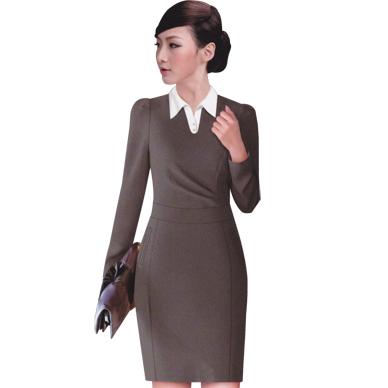 衬衫 连身裙订做 成都定做连身裙