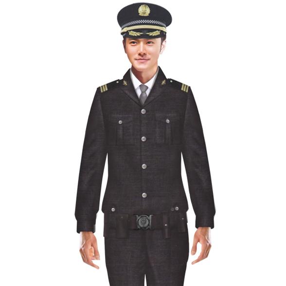 男保安服装 夹克 成都定做夹克