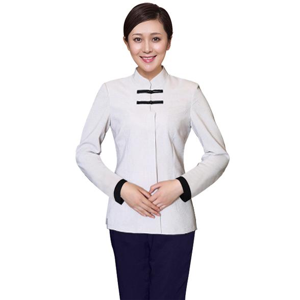 保洁、服务员女装 成都保洁服订做 成都定做保洁服